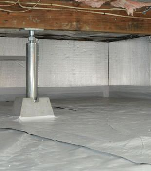 Crawl Space Insulation With Silverglo In Schenectady