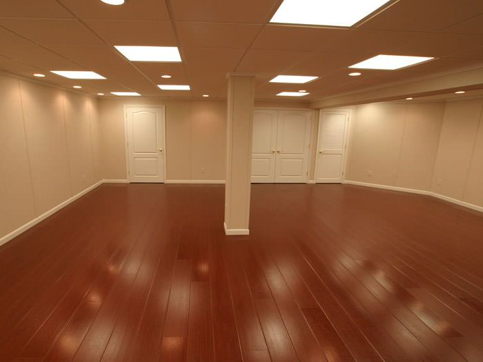 faux wood basement flooring for finished basements in schenectady
