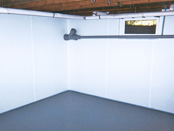 Waterproof Beautify Your Unfinished Basement Walls Support Posts
