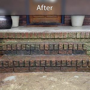 Sinking stairs repaired with PolyLevel® Schenectady