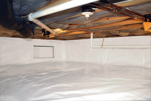 Crawl Space Repair After in Albany
