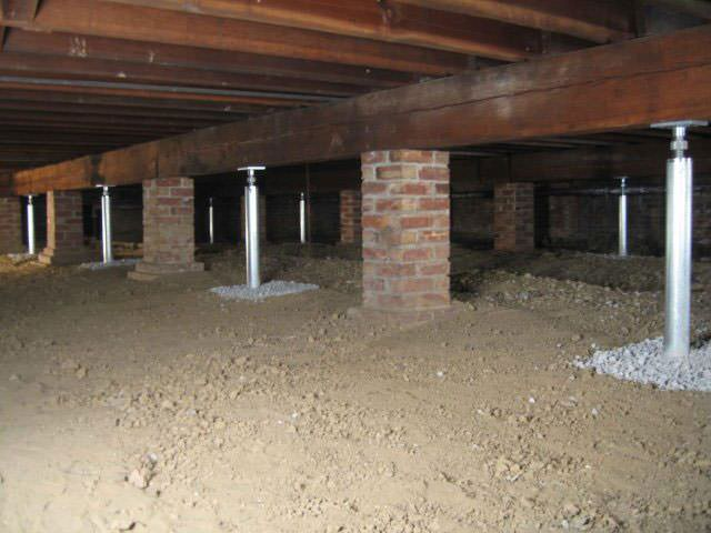 Crawl Space Joist Repair Troy Albany Schenectady