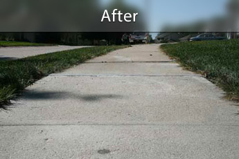 Fixing sunken concrete with PolyLevel® in Schenectady