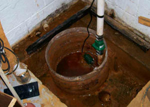 Extreme clogging and rust in a Rensselaer sump pump system