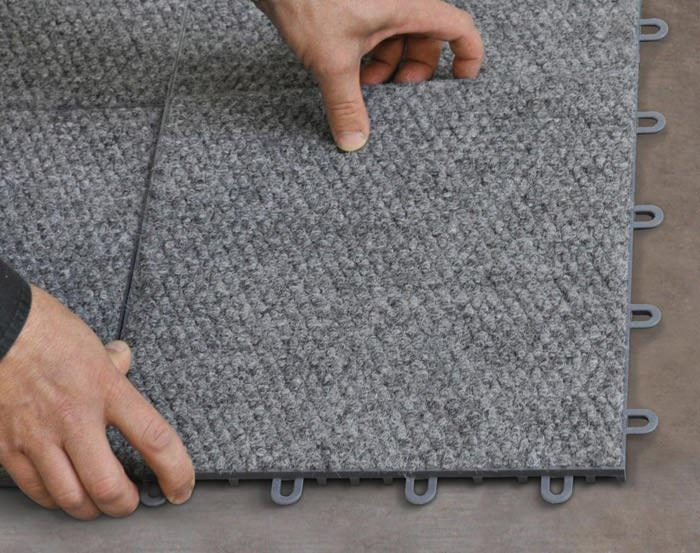 ... Interlocking Carpeted Floor Tiles Available In Amsterdam, New York ...