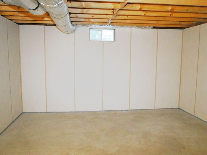 Insulated basement wall panels; Basement wall panels as a basement finishing alternative for Cohoes homeowners ... & Insulated Basement Wall Panels | Troy Albany Schenectady