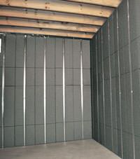 Thermal insulation panels for basement finishing in Troy, New York